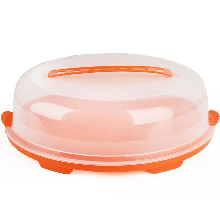 Plastový box s poklopem kulatý, BANQUET