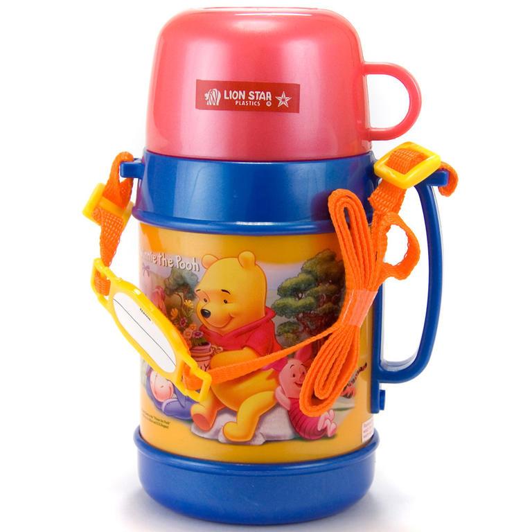 Dětská termoska s hrnekm 400 ml Lilly, BANQUET  - 1