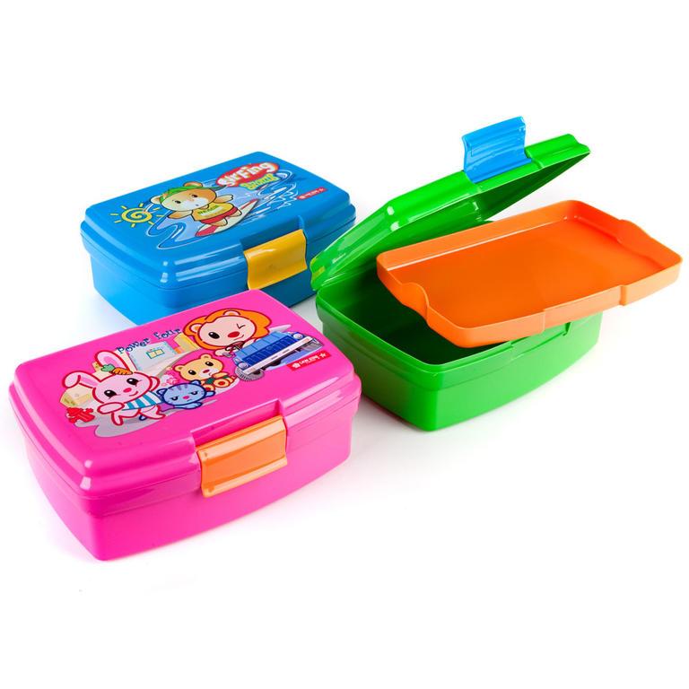 Dětský svačinový box 2D Lilly, BANQUET