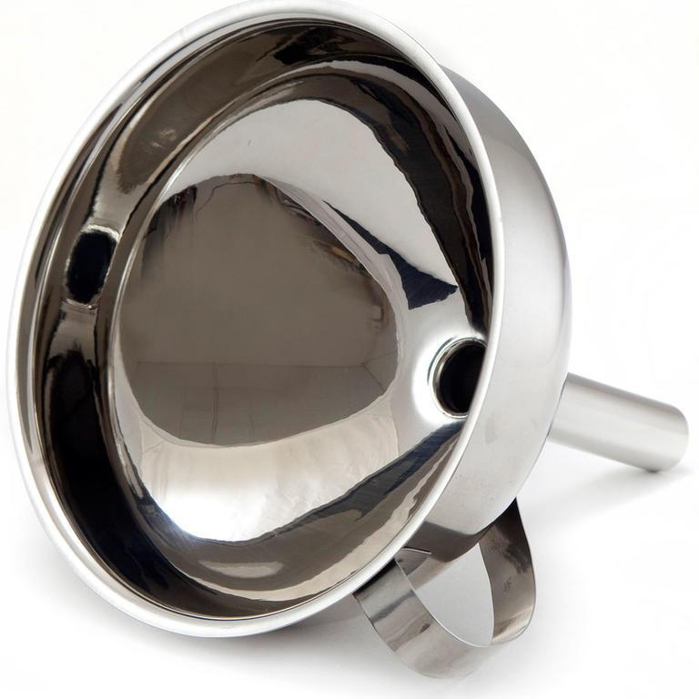Nerezový trychtýř 8 cm, BANQUET