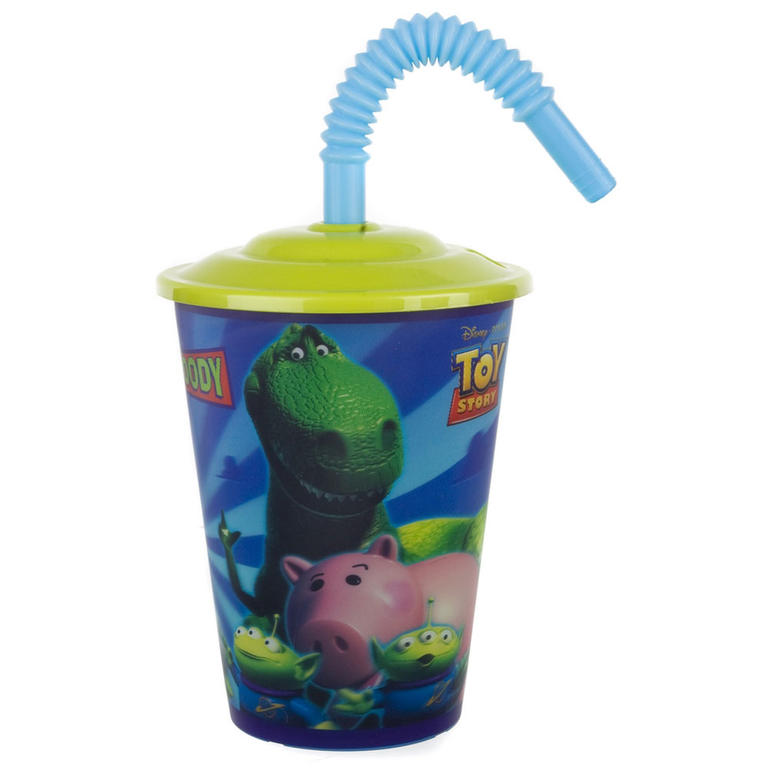 Dětský pohárek s víčkem 450 ml Toy Story L, BANQUET