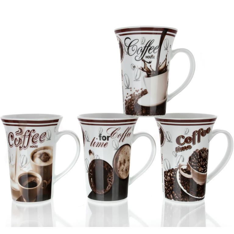 Keramický hrnek 390 ml kávová kompozice, BANQUET