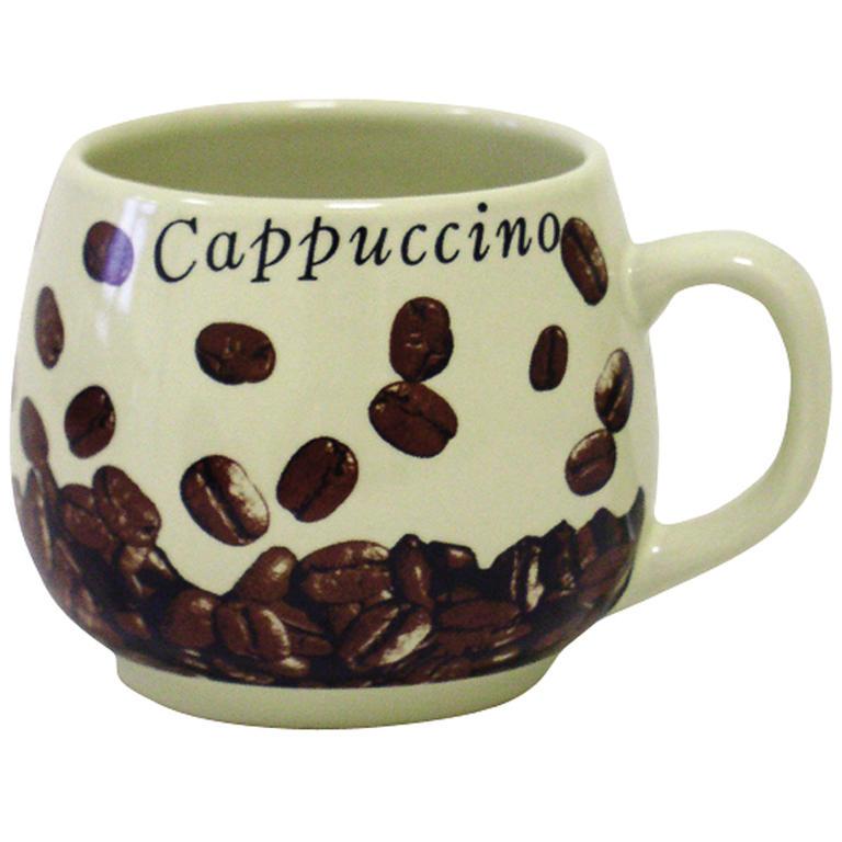 Keramický hrnek buclák Cappuccino 300 ml