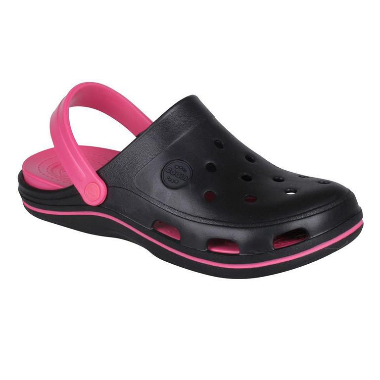 Dámské sandály COQUI BODEE, černo-růžové 38 - 1