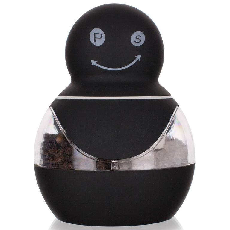 Mechanický mlýnek na sůl a pepř černý, BANQUET  - 1