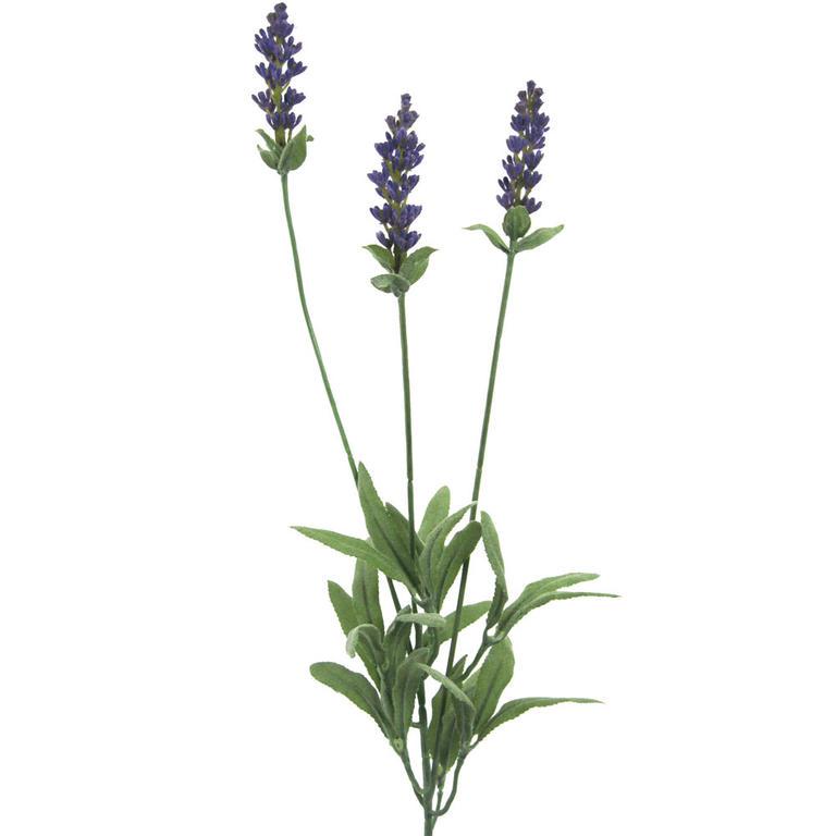 Umělá květina - Levandule 3 květy