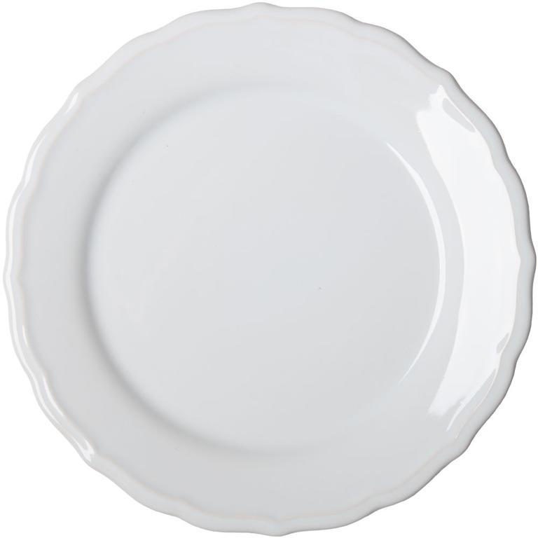 Keramický mělký talíř s plastickým zdobením  - 1