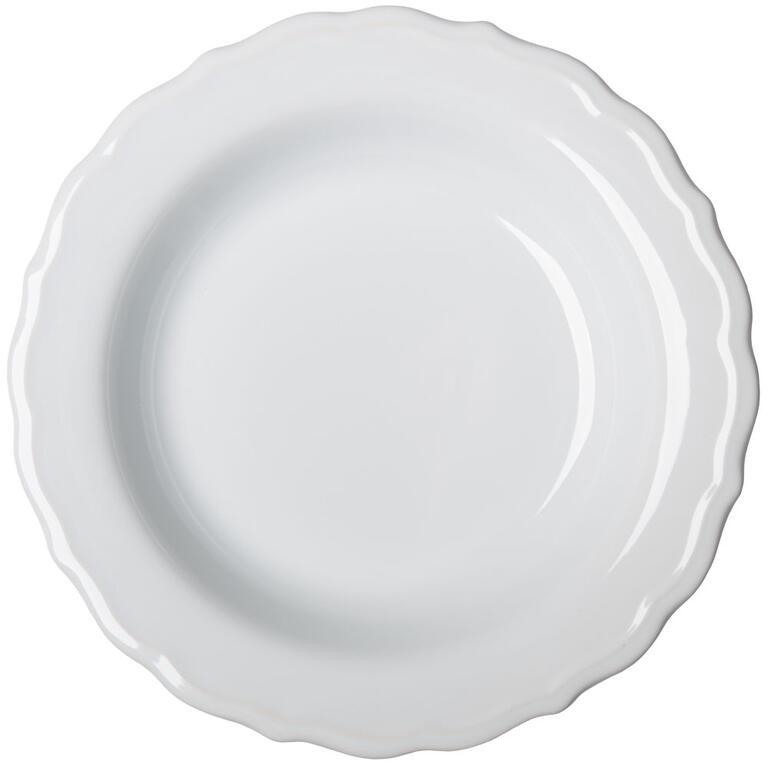 Keramický hluboký talíř s plastickým zdobením  - 1