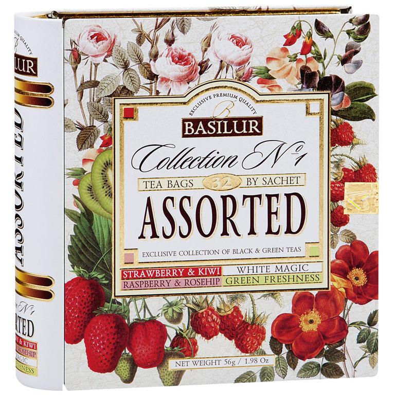Basilur tea - Kniha Variace kombi 32 sáčků  - 1