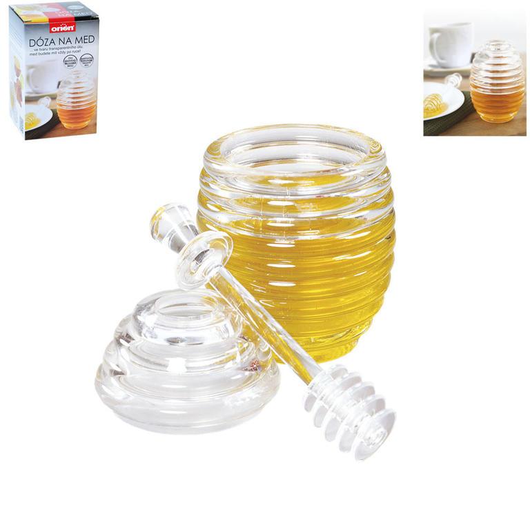 Dóza na med se lžicí