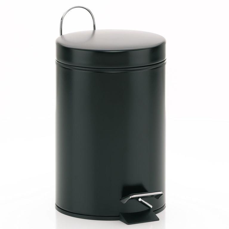 Kosmetický odpadkový koš GRAPHITO 3 l