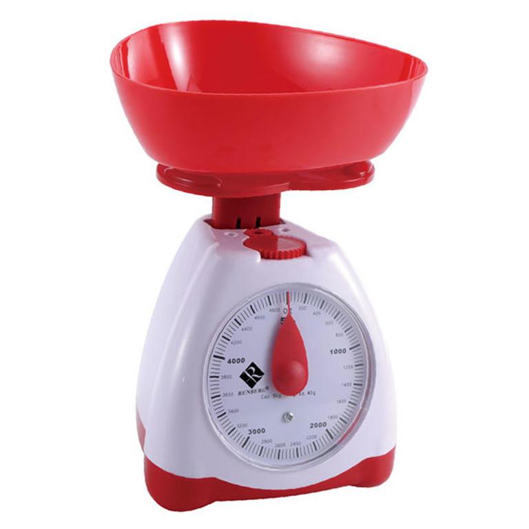 Kuchyňská váha červená