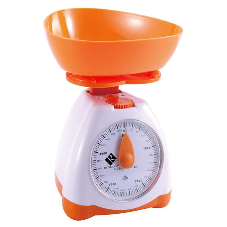 Kuchyňská váha oranžová