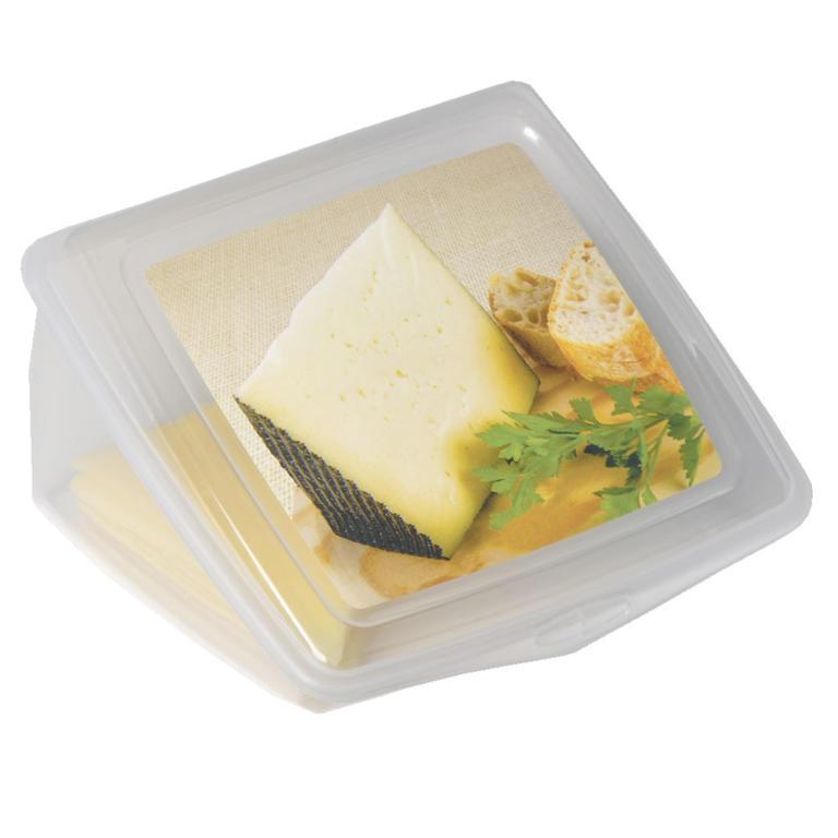 Plastová dóza na sýr