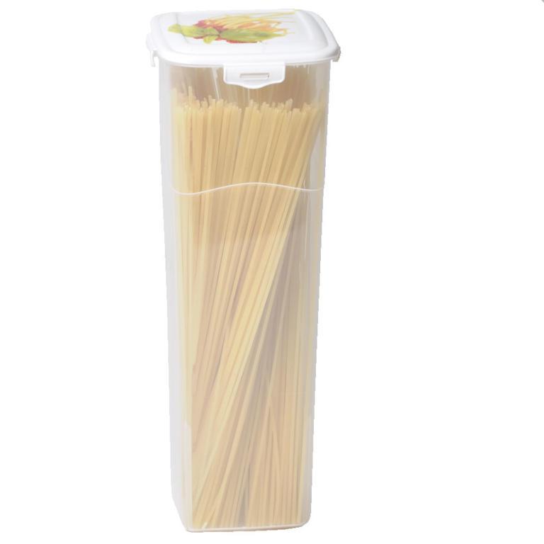 Plastová dóza na špagety