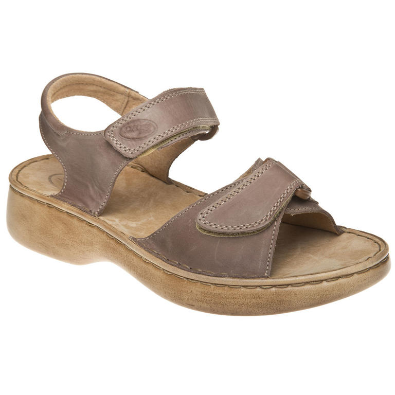 Dámské sandály cappuccino vel. 41