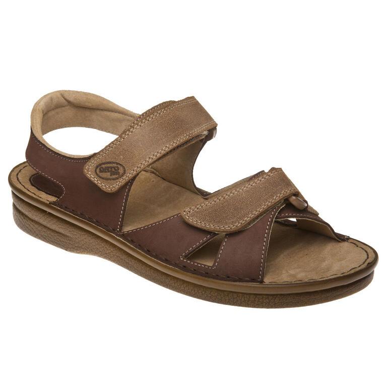 Pánské sandály tmavě hnědé