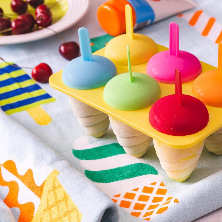 Plastová tvořítka na zmrzlinu