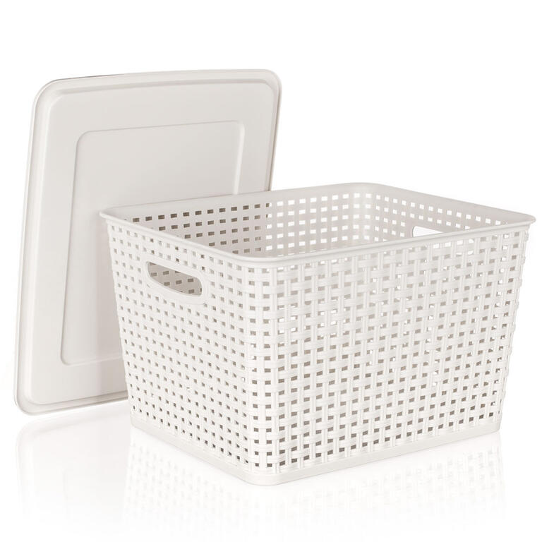 Plastový úložný box s víkem, BANQUET 17 l