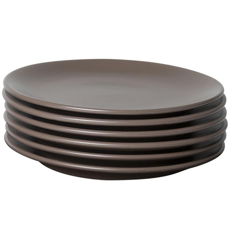 Keramické desertní talíře Amande 6 kusů, BANQUET