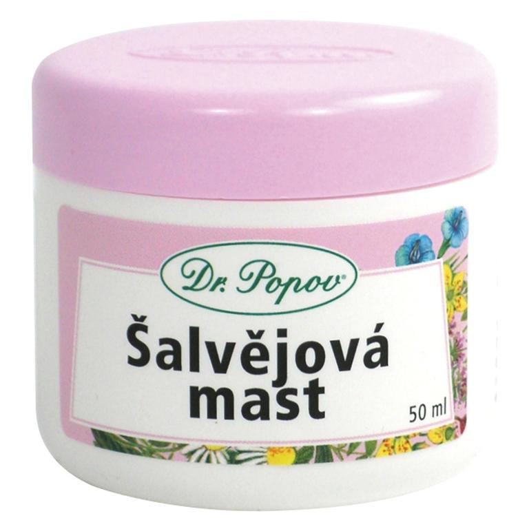 Šalvějová mast 50 ml, Dr. Popov