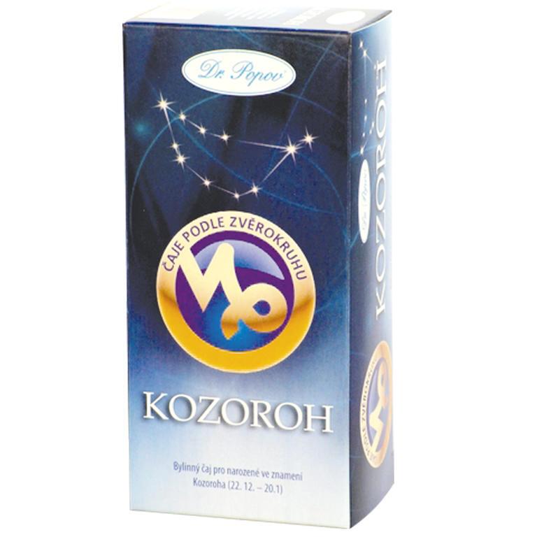 Bylinný čaj podle zvěrokruhu - Kozoroh, Dr. Popov