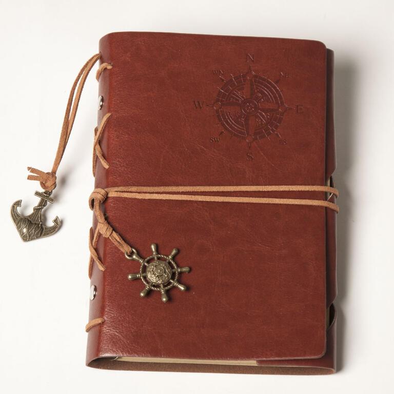 Cestovatelský deník hnědý - 1
