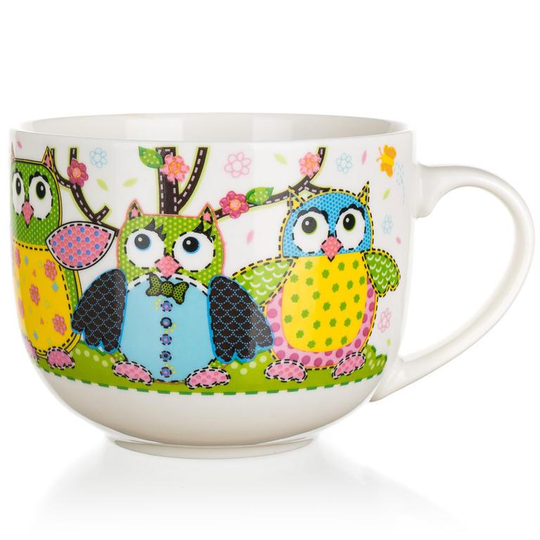 BANQUET Hrnek jumbo OWLS 500ml 60220110