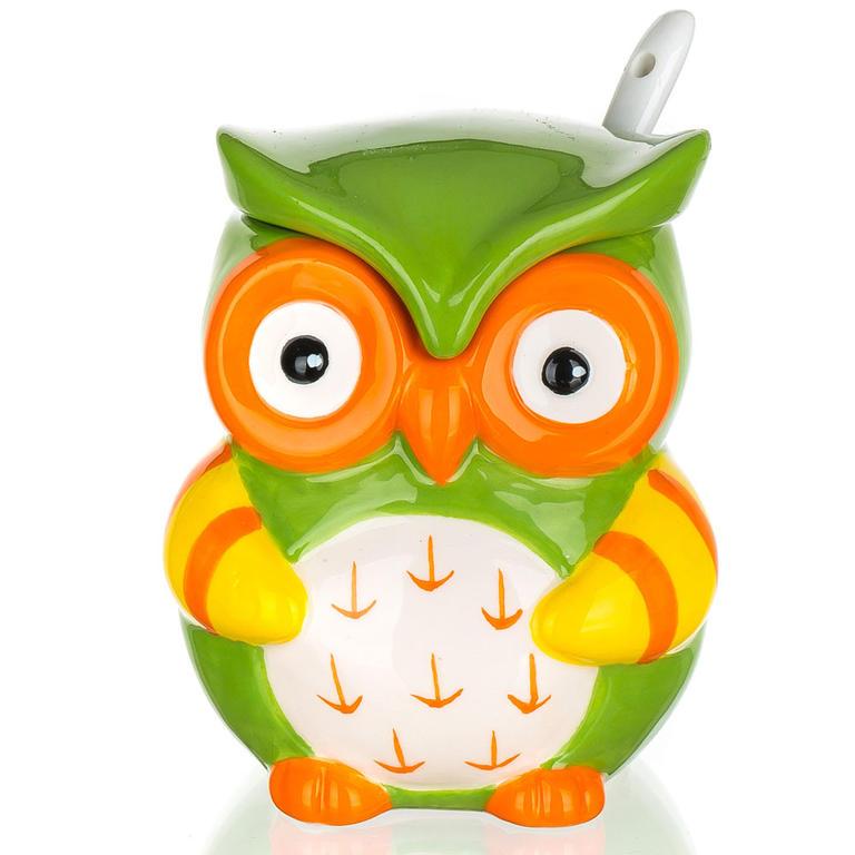 Keramická cukřenka se lžičkou OWL, BANQUET