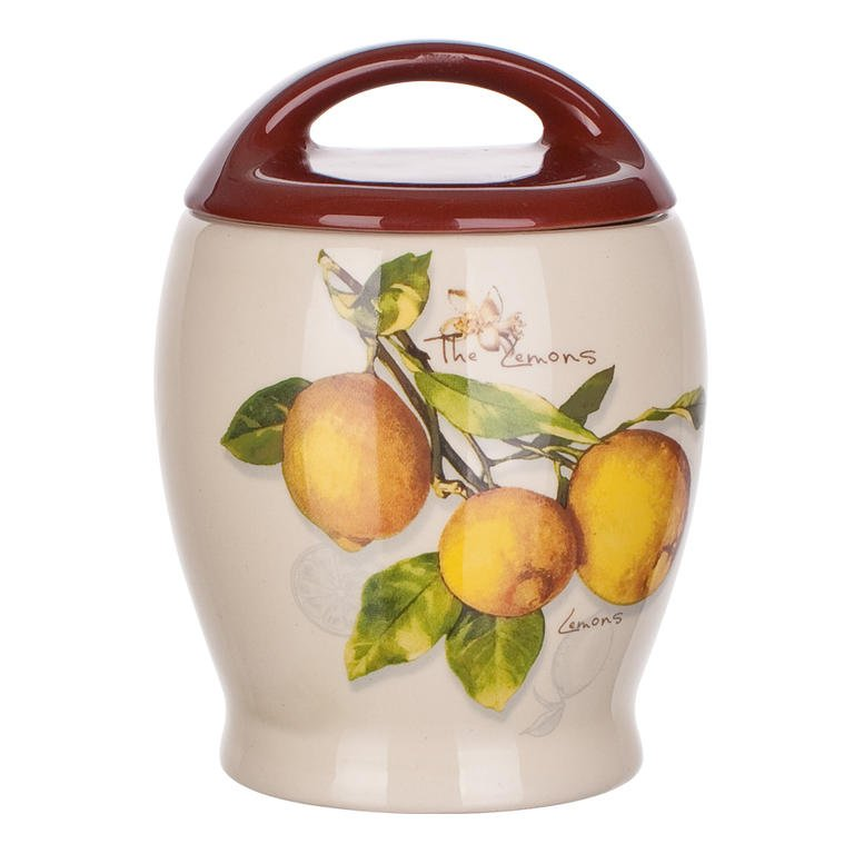 Keramická dóza Lemon, BANQUET
