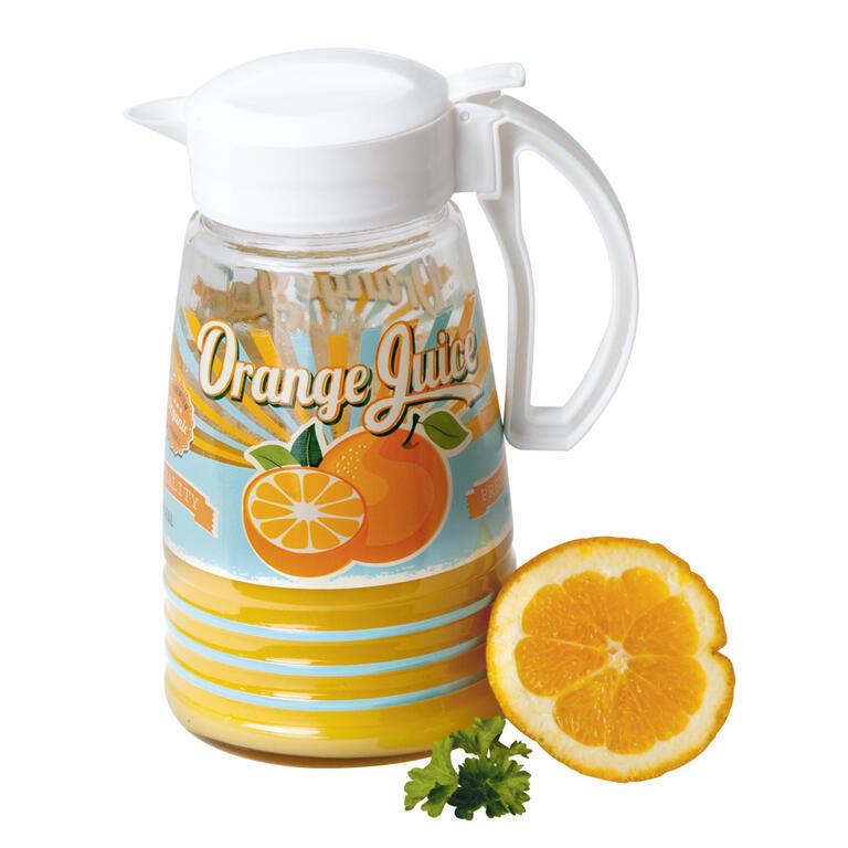 Džbán s víčkem 1,5 l Pomeranč