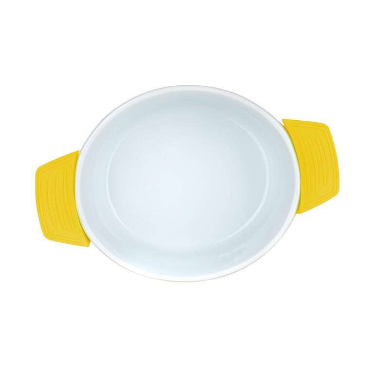 Zapékací miska oválná žlutá, BANQUET