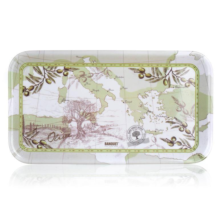 Melaminový sandwich tác Olives, BANQUET