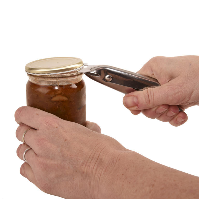 Nerezový otvírák zavařovacíh sklenic  - 1