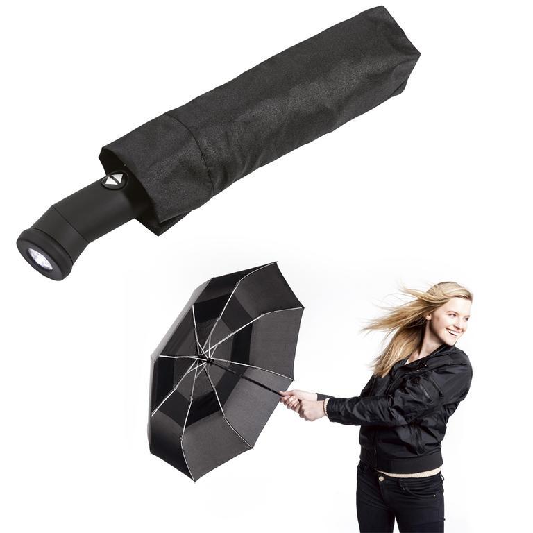Skládací deštník odolný proti větru  - 1