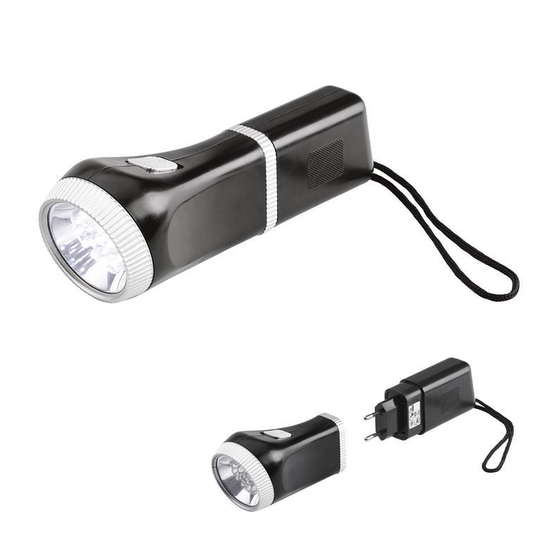 Dobíjecí svítilna s LED diodama  - 1