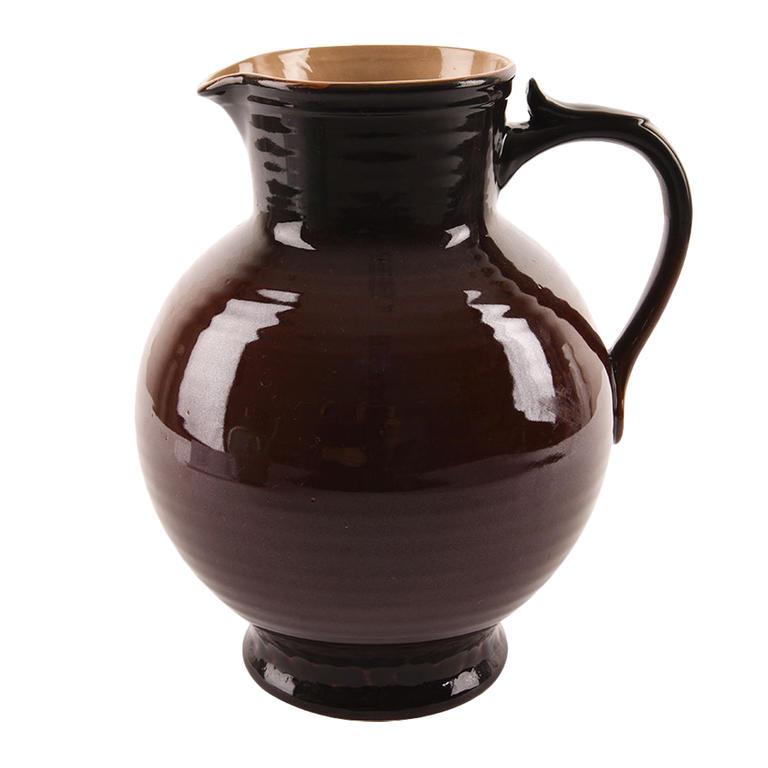 Keramický džbán 3,2 l Krajáč hnědý