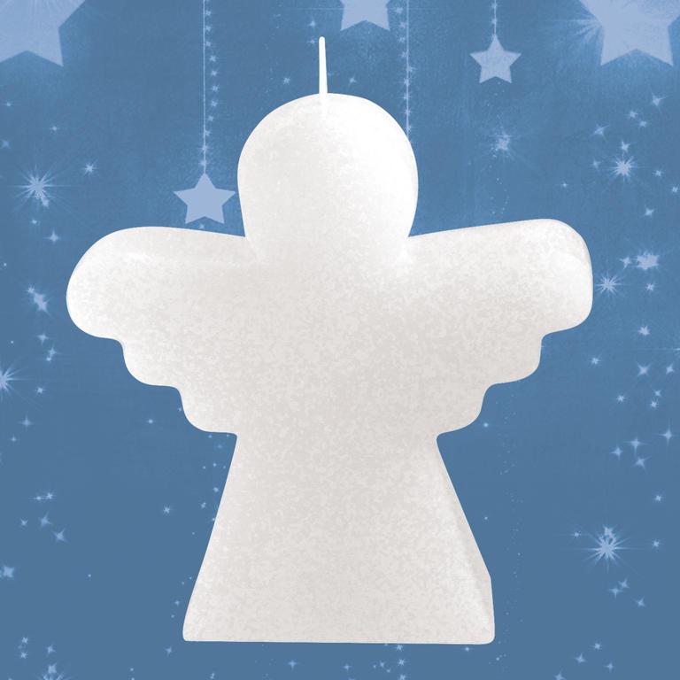 Svíčka Anděl bílá