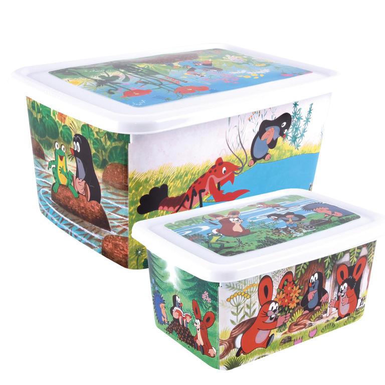 Dětský plastový box Krteček