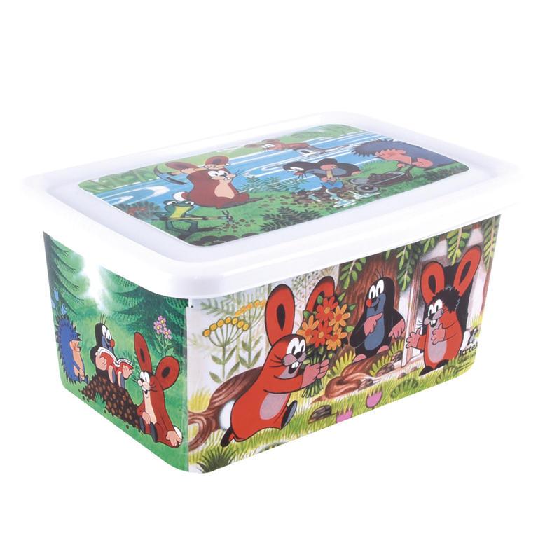 Dětský plastový box Krteček objem 8 l