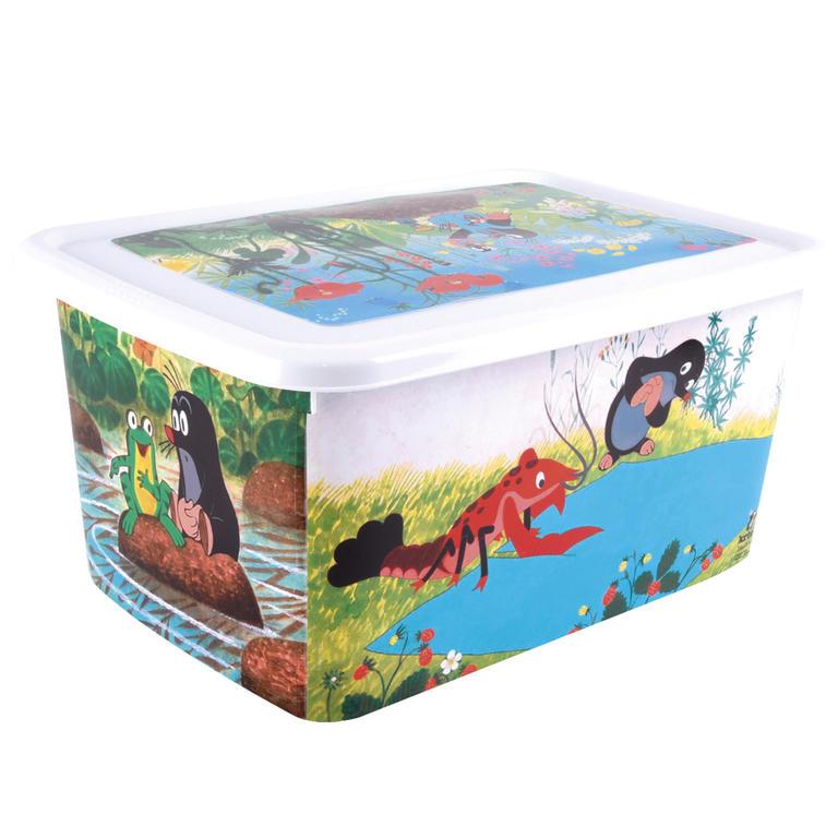 Dětský plastový box Krteček objem 26 l