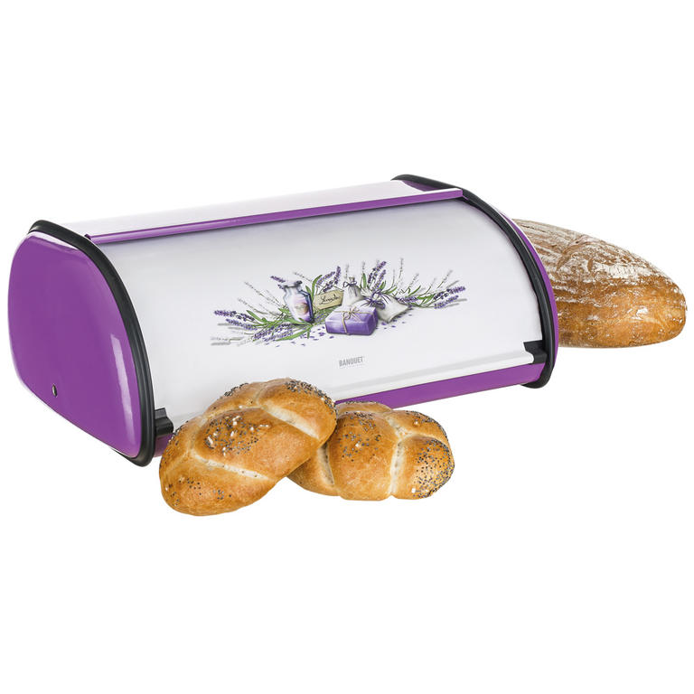 Nerezový chlebník Lavender, BANQUET délka 36 cm