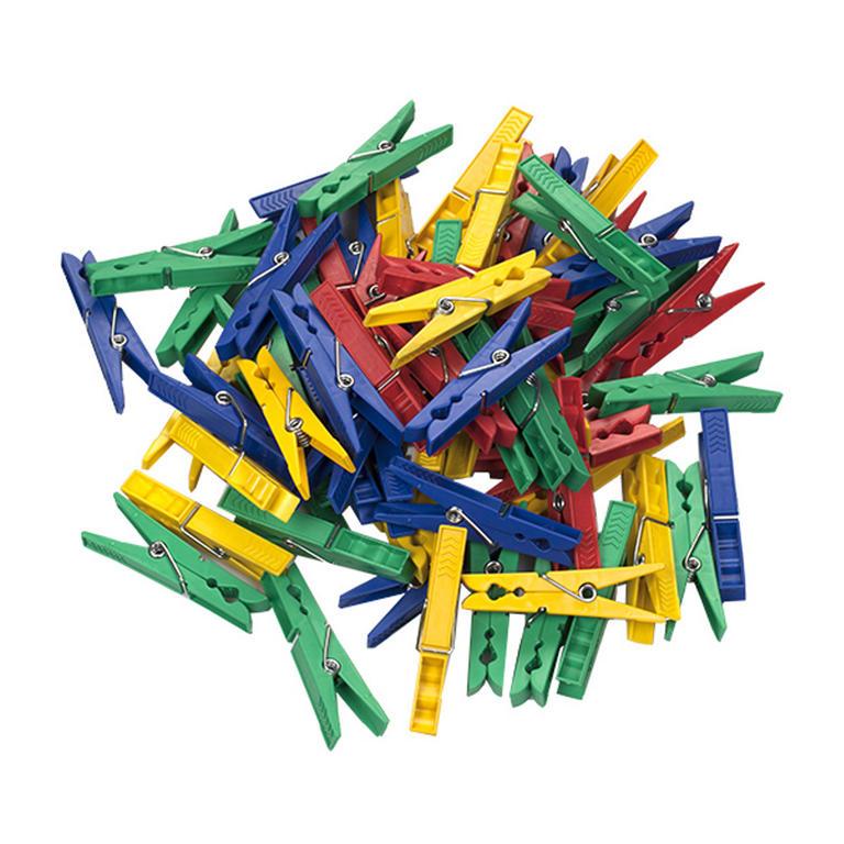 DURAmat Kolíčky na prádlo 72 mm PVC 50 ks
