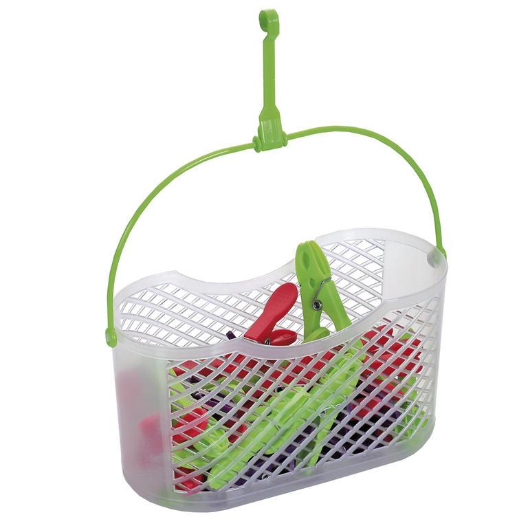 DURAmat FUN košík + NOVA plastové kolíčky 30 ks 80 mm