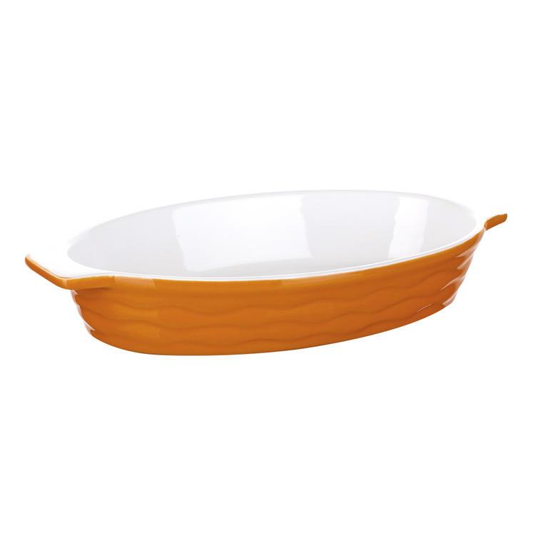 Banquet Zapékací forma oválná 26x14cm Culinaria Orange