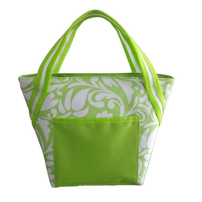 Chladící taška 8 l zelená