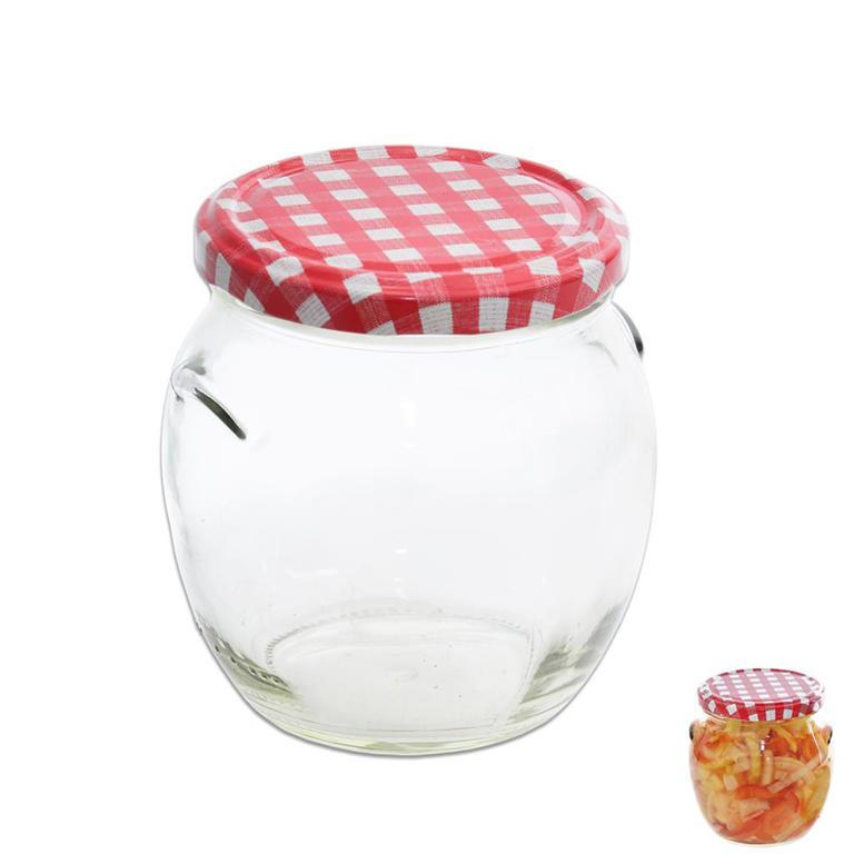 Zavařovací sklenice s víčkem Karo 0,5 l
