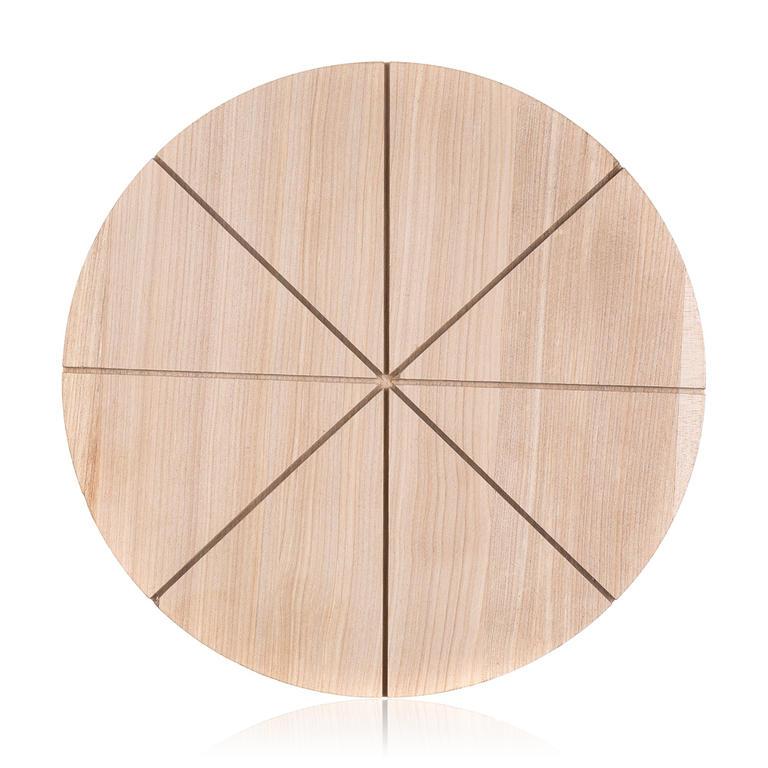 BANQUET Dřevěné krájecí prkénko na pizzu Brillante