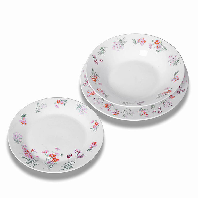 Sada talířů Arabis, 18 kusů