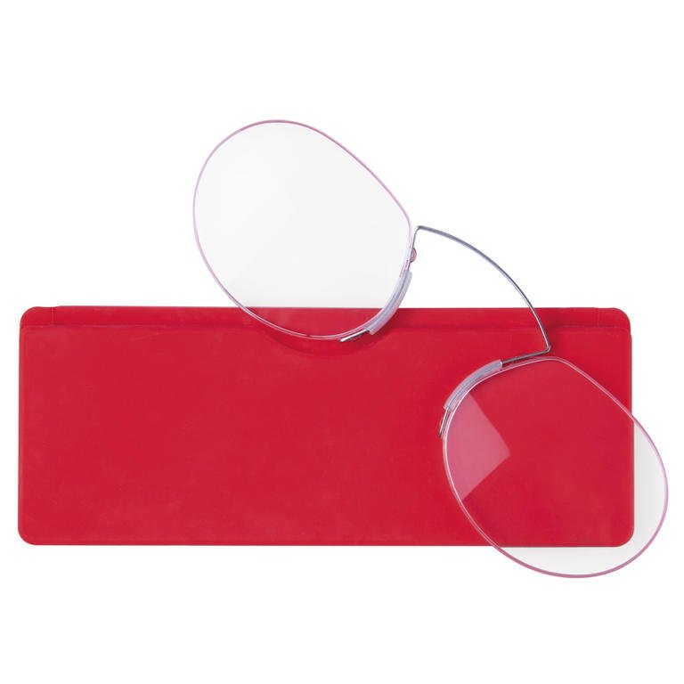 Flexibilní dioprické brýle +1,5 červené